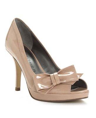 Marc Fisher Manilla Pump Blush Patent