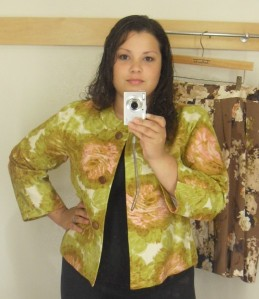 Jackie Fit Tuileries swing jacket