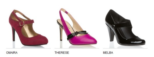 ShoeDazzle Omaira, Therese, Melba