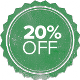 Get 20% off JUST for entering the contest!