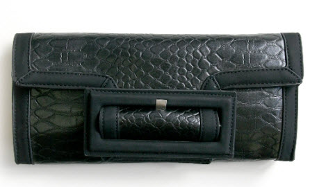 Croco Buckle Clutch from Sneakpeeq