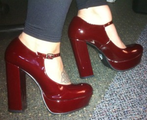 Patent Mary Jane Platform at Forever21