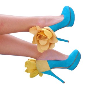 Heel Condoms - Flower