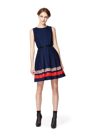 Jason Wu for Target Navy Poplin Dress