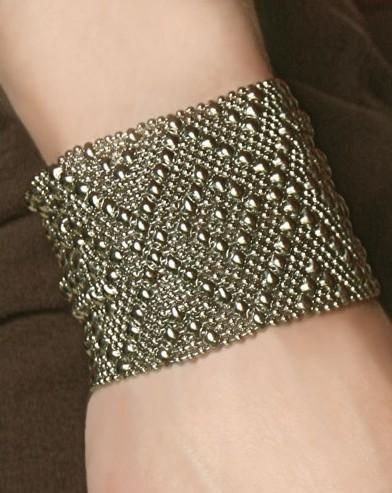 Alexandria Liquid Metal Bracelet