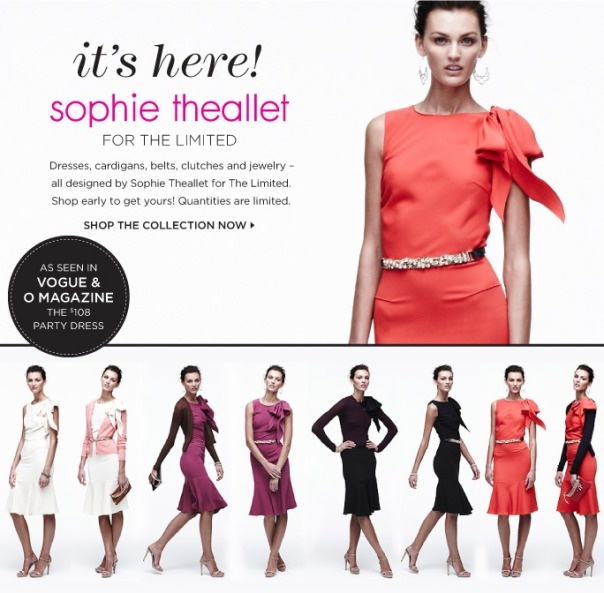 Sophie Theallet for The Limited Collection