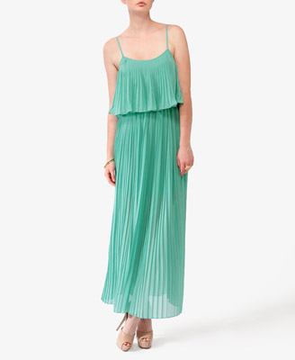 Layered Maxi Dress in Mint || Forever21.com || $32.80