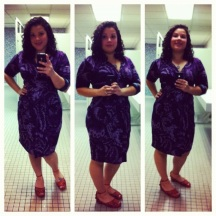 Old dress from Macy's clearance