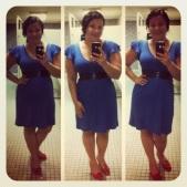Michael Stars blue dress - thrifted