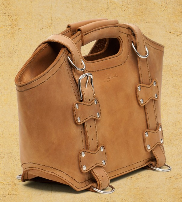 Saddleback Leather Tote - tobacco brown (small)