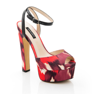 Shoemint Bianca Red Ikat