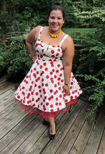 Pull Up a Cherry Dress | Cherry Print Dress | Modcloth