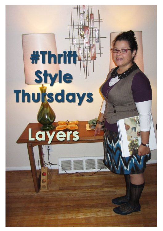 Thrift Style Thursday -layers
