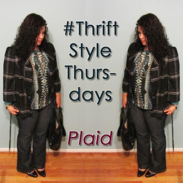 thrift style thursday - plaid