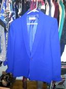 Tahari ASL blue blazer