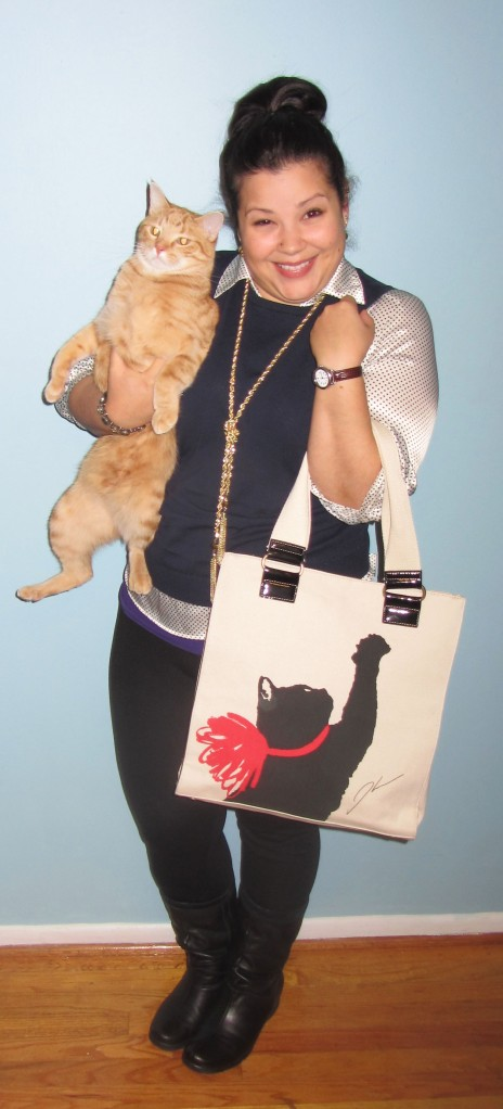 thrift style thursday bags and kitty