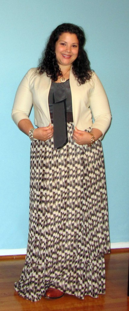 thrift style thursday - maxi skirts