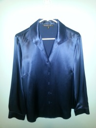 lafayette148 silk blouse
