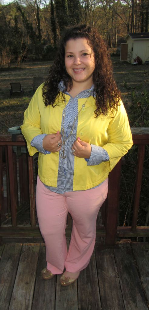 thrift style thursday pastels