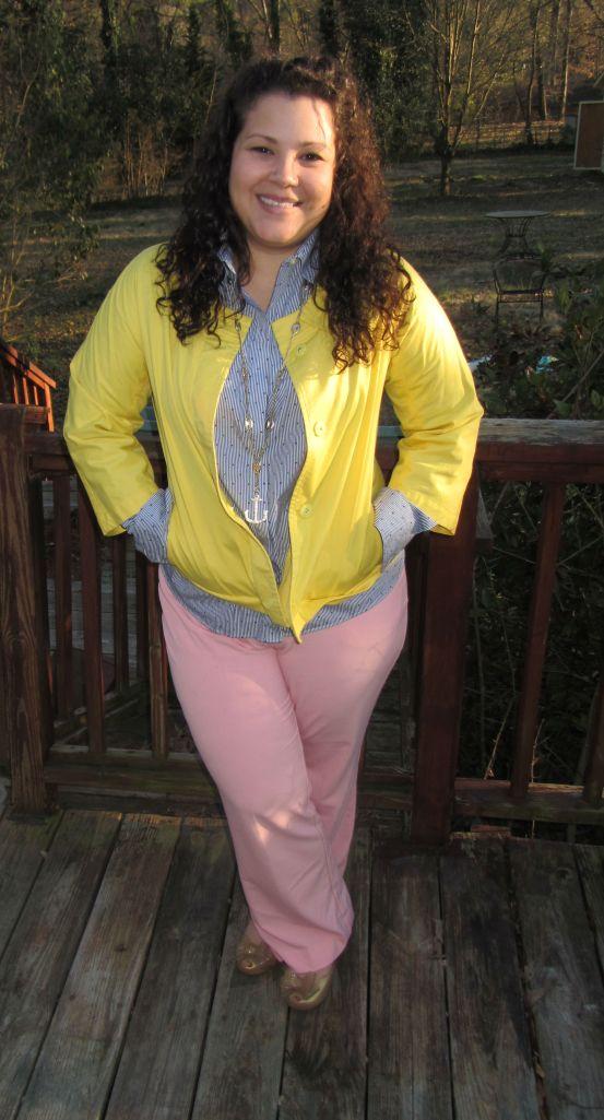 thrift style thursday pastels