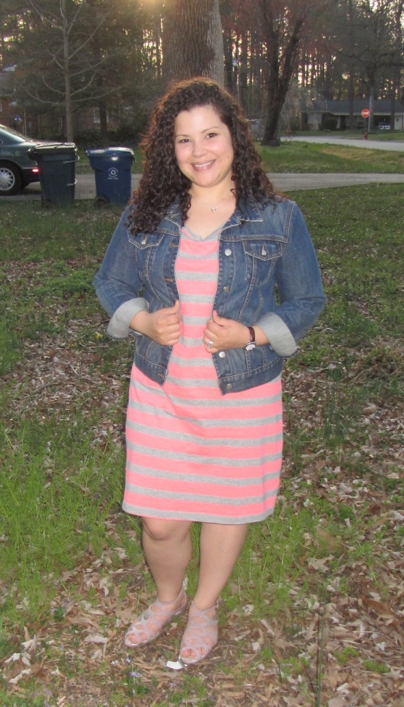 thrift style thursday pretty in pink
