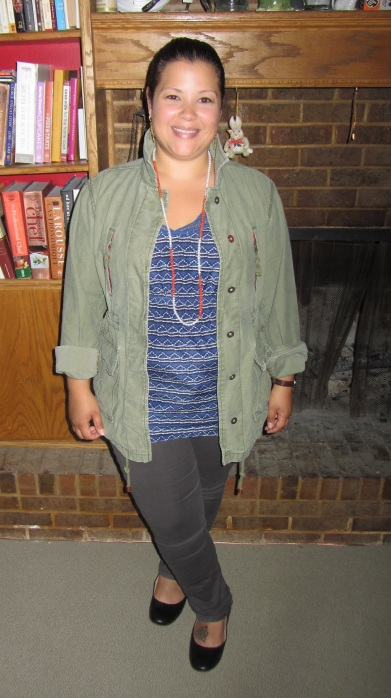 Army Chic + ThredUp finds