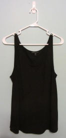 eileen fisher black tank top