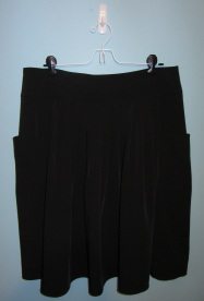 Simply Vera by Vera Wang black skirt