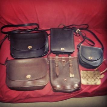 vintage coach purses vintage dooney bag coach wristlet