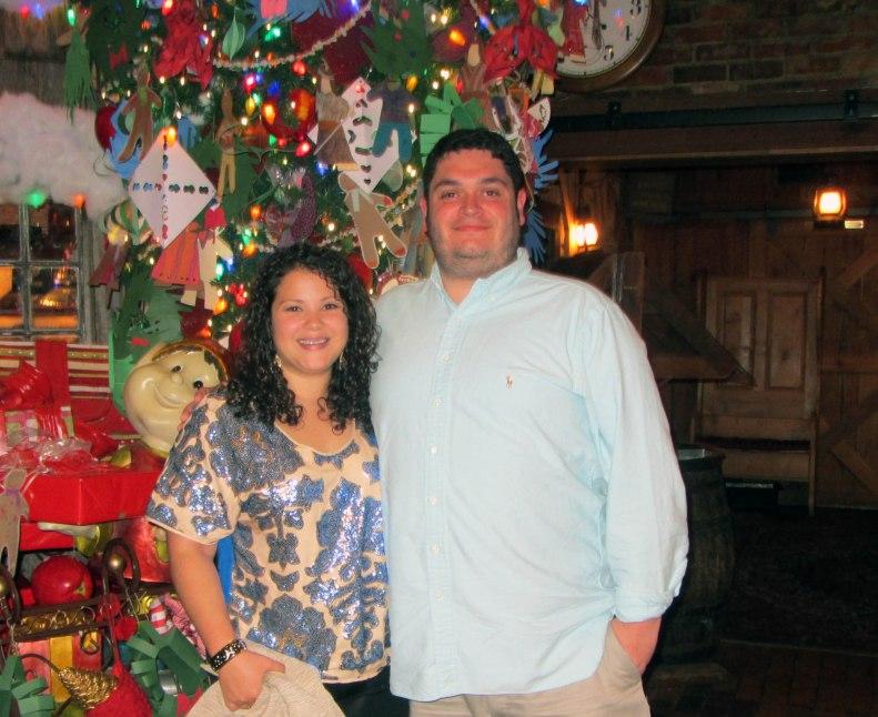 anniversary dinner at angus barn