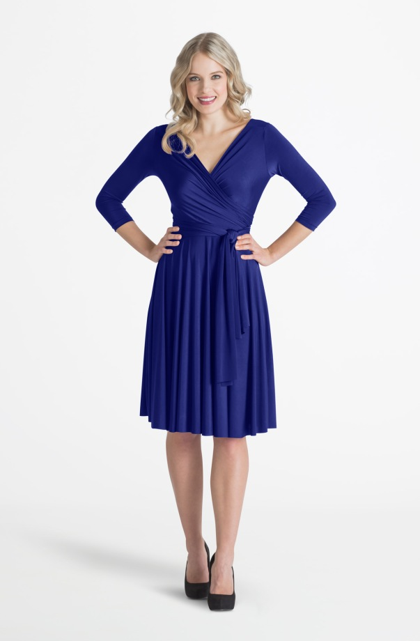 Henkaa Iris Convertible Dress - Royal Blue