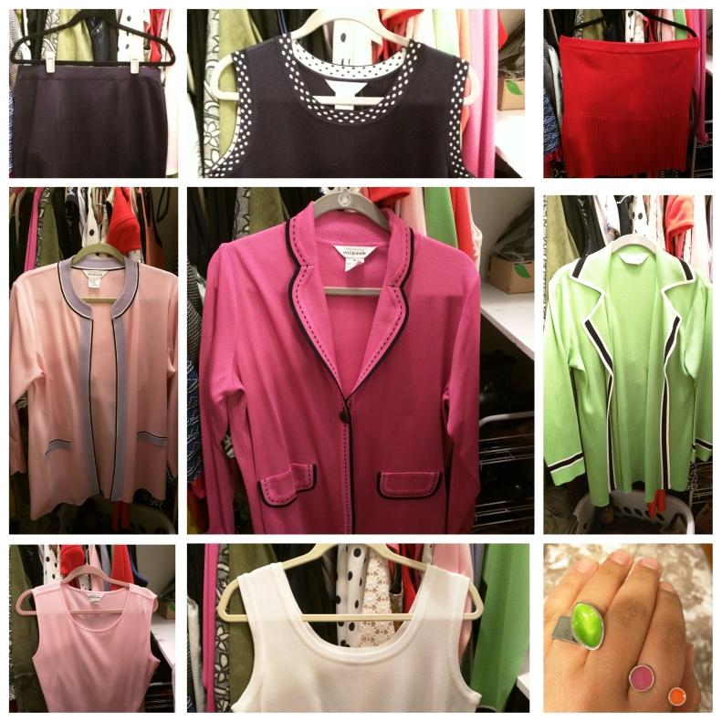 may 2015 fashion budget - misook tanks & jackets
