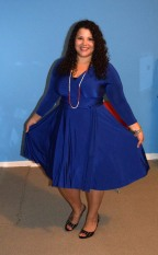 Henkaa Iris Convertible Dress - Royal Blue - Office Wear