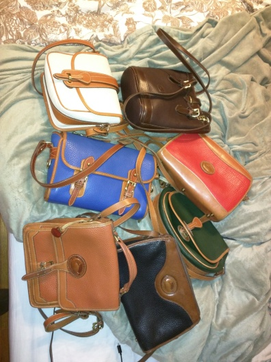 vintage dooney & bourke bags