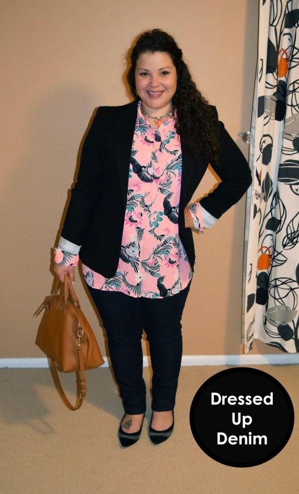 workwear wednesday - 6 workwear rules - dressed up denim