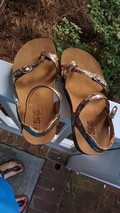 SAS shoemakers pampa fantasia sandals