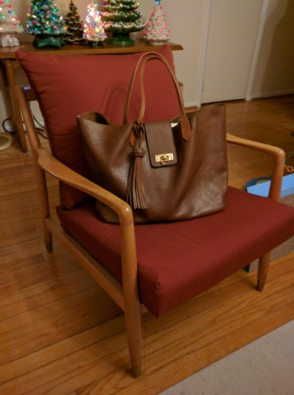 bixi awotan brown leather tote