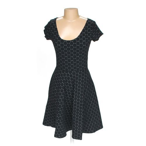Leota black dot dress - Swap